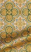 Colchis metallic brocade (green/gold)