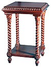 Church furniture: Greek litia table with shelf