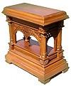 Church furniture: Pantheleimon litiya table