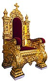 Church furniture: Koursk Bishop throne