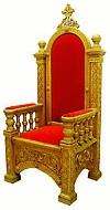 Church furniture: Bishop's throne - 3