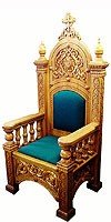 Church furniture: Bishop's throne - 7