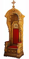 Church furniture: Bishop's throne - 1