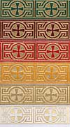 Vestment trims: St. George Cross galloon