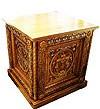 Church furniture: Sinai altar carved table