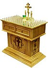 Panikhida table no.5 (for 102 candles)