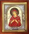 Religious icons: Most Holy Theotokos of the Seven Arrows - 2