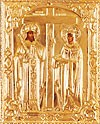 Religious icons: Stt. Equal-to-the-Apostles Konstantin and Helen no.75