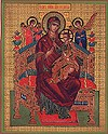 Religious Orthodox icon: Theotokos the Queen of All
