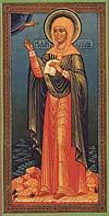 Religious Orthodox icon: Holy Martyr Natalia