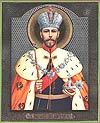 Religious Orthodox icon: Holy Tsar-Martyr Nicholas