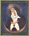 Religious Orthodox icon: Theotokos of Ostrobram