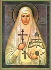 Religious Orthodox icon: Holy Hosiomartyr Great Princess Elizabeth