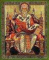 Religious Orthodox icon: Holy Hierarch Spyridon of Tremethius