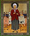 Religious Orthodox icon: Holy Blessed Xenia of St.-Petersburg