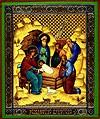 Religious Orthodox icon: Nativity of Christ