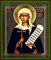 Religious Orthodox icon: Holy Nina Equal-to-the-Apostles