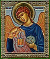 Religious Orthodox icon: Holy Archangel Gabriel