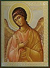 Religious Orthodox icon: Holy Archangel Selaphiel