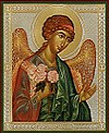 Religious Orthodox icon: Holy Archangel Barachisius