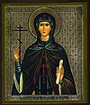 Religious Orthodox icon: Holy Saint Kyra