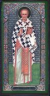 Religious Orthodox icon: Holy Hierarch Nicholas the Wonderworker - 10