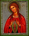 Religious Orthodox icon: Theotokos the Helper in Birth