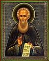 Religious Orthodox icon: St. Alexander Svirskiy