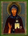 Religious Orthodox icon: Holy Princess Ephrosinija of Moscow