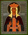 Religious Orthodox icon: Holy Queen Alexandra