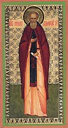 Religious Orthodox icon: Holy Venerable Nikon the Wonderworker of Radonezh