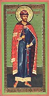 Religious Orthodox icon: Holy Right-believing Prince Demetrius Donskoy