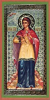 Religious Orthodox icon: Holy Blessed Muse