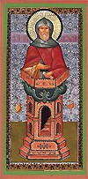 Religious Orthodox icon: Holy Venerable Symeon the Stylite