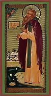 Religious Orthodox icon: Holy Venerable Sabbatius of Solovki
