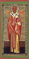 Religious Orthodox icon: St. Gennadius of Constantinople