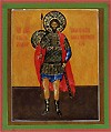 Religious Orthodox icon: Holy Right-believing Great Prince Andrew Bogolyubskiy