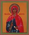 Religious Orthodox icon: Holy Martyr Margaret