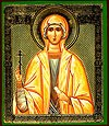 Religious Orthodox icon: Holy Martyr Sophia