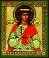 Religious Orthodox icon: Holy Martyr Alla