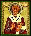 Religious Orthodox icon: Holy Hierarch Lev the Pope of Rome