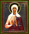 Religious Orthodox icon: St. Olimpias