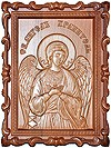 Carved icon: of Holy Guardian Angel