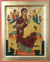 Byzantine icon: The Most Holy Theotokos the Queen of All