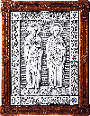 Icon - Holy Apostles Peter and Paul - A142-2