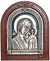 Icon of the Most Holy Theotokos of Kazan (enameled)