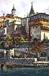 """Painting: V.I. Nesterenko """"Landing-stage"""""""