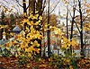 "Painting: V.I. Nesterenko ""Autumn in the Caves"""