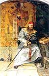 "Painting: P. Ryjenko ""The Most Gentle"""
