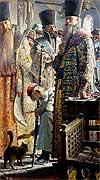 "Painting: P. Ryjenko ""Czar's secret"""